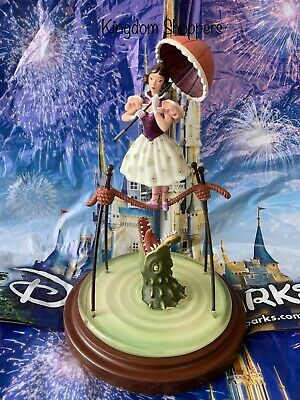Disney Parks Halloween Stretching Room Haunted Mansion Tightrope Girl Figurine