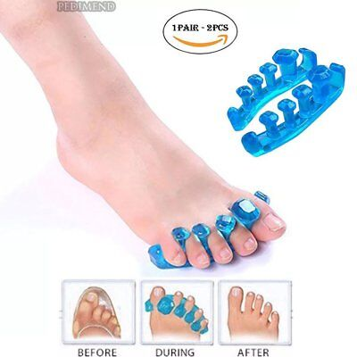 PEDIMEND™ Silicone Gel Yoga Toe Spreaders / Stretchers - Toe Separators Bunion -