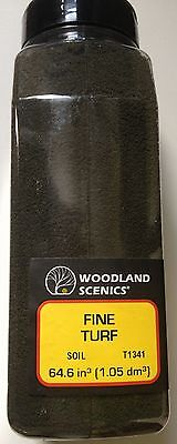 Woodland Scenics Fine Turf Soil # T1341 Factory Sealed