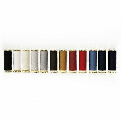 Gutermann Sew All 100% Polyester Thread 100m Various Colours Hand and Machine