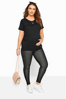 Womens Bump It Up Maternity Jeggings With Comfort Panel Plus Size 16 To 36