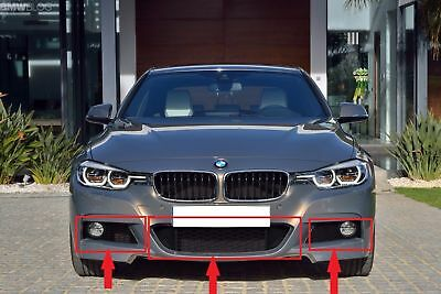 BMW 3 SERIES F30 F31 M SPORT FRONT BUMPER FOG LIGHT GRILLE RIGHT O//S 2011-2015