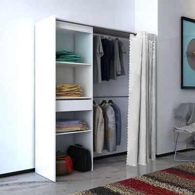 schrank garderobe beautiful kronenburg stufenregal regal regalsystem schrank garderobe. Black Bedroom Furniture Sets. Home Design Ideas