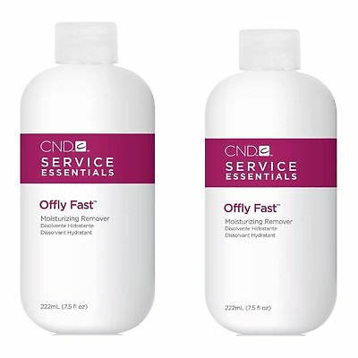 CND SHELLAC Offly Fast Moisturising and Nourishing gel remover 2 x 222ml