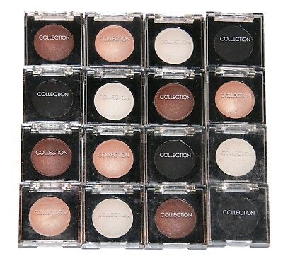16 x Collection Work the Colour Solo Eyeshadow | Assorted Shades | RRP £40