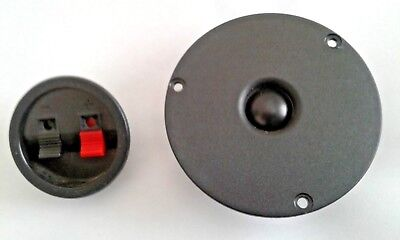 """Paradigm Vifa D19TD-05 3/4"""" POLY Tweeter, Crossover and Terminal Cup"""