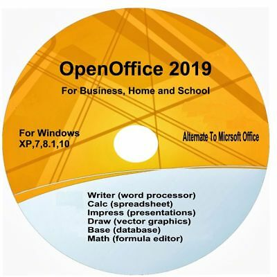 PROFESSIONAL OPEN OFFICE Suite New 2018 Home Student