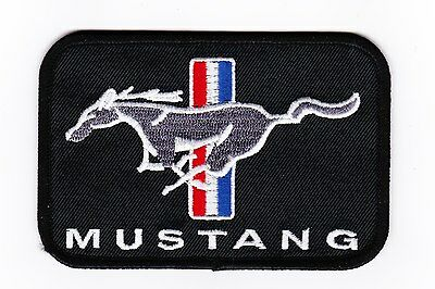 Ford Mustang Pony Sew/iron On Patch Shirt Jacket Embroidered Shelby Cobra Coyote