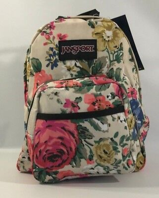 JANSPORT BACKPACK Half Pint Dark Slate Seahorse -  22.80   PicClick 17caeca433