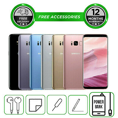 Samsung Galaxy S8 PLUS G955 64GB All Colours Unlocked Smartphone