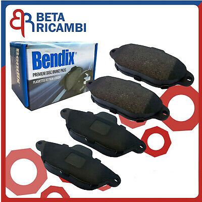 KIT PASTIGLIE FRENO BREMBO FIAT PUNTO 1.2 8V III° serie NATURAL POWER GAS METANO
