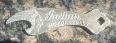 New Indian Motorcycle Bottle Opener--Aluminum Body W/Engraved Indian Motorcycles