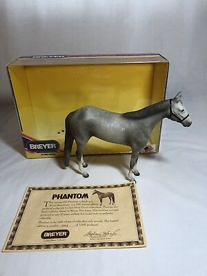 Breyer model horse #700897 Phantom 1997 JAH LE, traditional scale, new in box