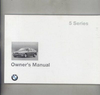 1997 BMW US 528 528i 540 540i MINT ORIGINAL Owner's Manual wy9976