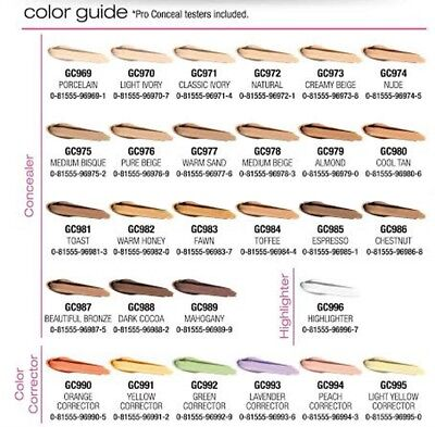 LA Girl PRO.conceal HD Concealer Pick Any 3 From 28 Colors & Message Us
