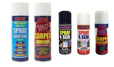 Multipurpose Heavy Duty Glue Spray 200ML/500ML Carpet Contact Adhesive UK SLR