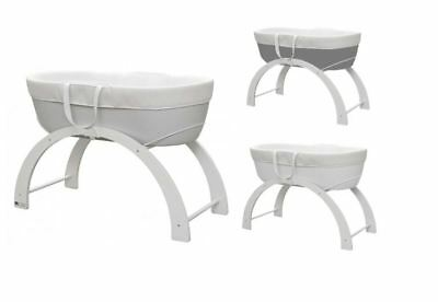 Shnuggle Dreami Baby Bassinet Crib with Stand and Mattress Sleeper