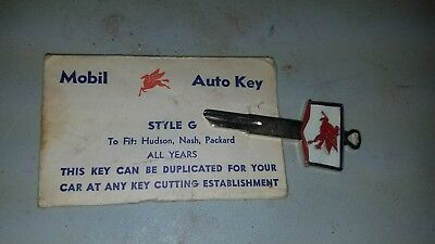 Mobil Auto Key for  style g - New Vintage Collectible