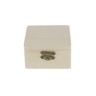 Small Plain Wooden Jewellery Storage Box Case for Kids Toys Gift Wood DIY Craft  sc 1 st  PicClick & SMALL PLAIN WOODEN Jewellery Storage Box Case for Kids Toys Gift ...