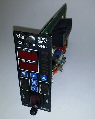 CONTROL KING 102-660 MODEL 2010 PID Hot Runner Temperature Controller - Works!