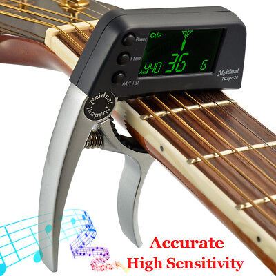 Meideal TCapo20 Alloy Quick Change Key Capo Tuner For Acoustic Electric Guitar