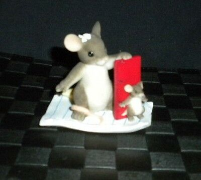 "Charming Tails ""You Always Measure Up"" Figurine #89/127"