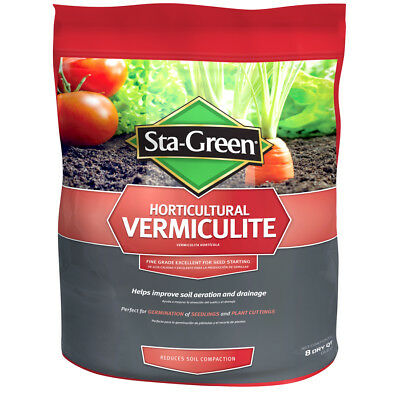Sta Green 8 Quart Horticultural Vermiculite New Free Shipping