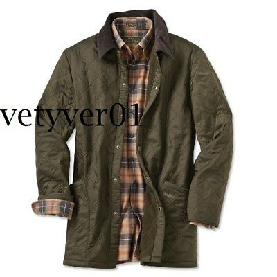 BARBOUR Heritage Eynsford Polarquilt Lined Quilted Jacket Green sz XXL