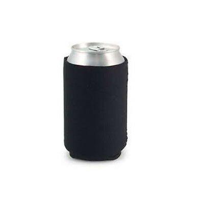 Collapsible Beer Drinks Can Cooler Insulated Sleeve Holder Party Beach Black