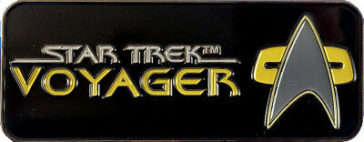 Voyager Logo - exklusiver Sammler Collectors Pin Metall - Star Trek - neu