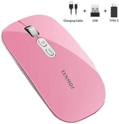Wireless Gaming Mouse, Adjustable DPI, 6 Buttons, Optical, Ergonomic