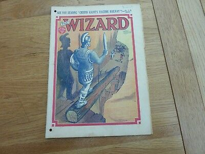1939 No 866 THE WIZARD COMIC ORIGINAL COMPLETE GOOD CONDITION
