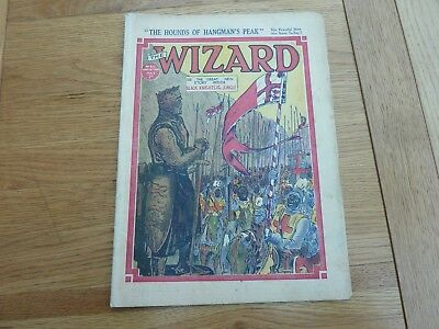 1938 No 812 THE WIZARD COMIC ORIGINAL COMPLETE GOOD CONDITION