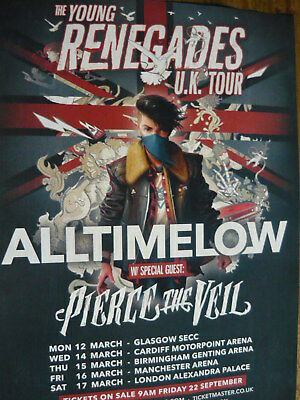 All Time Low - Magazine Cutting (Full Page Advert) (Ref Z10)