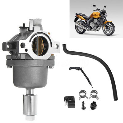 Metal Carburetor Carb Kit with Fuel Line for Briggs Stratton 792768 698620