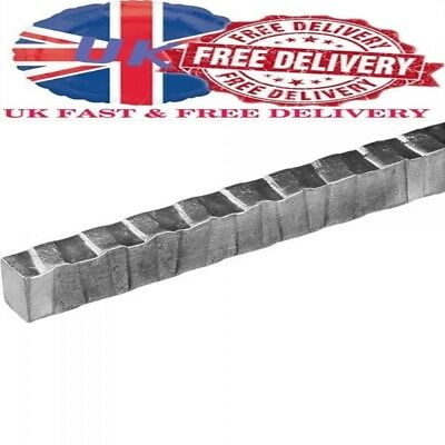 12 mm Mild Steel Round, Square or Twisted Mild Steel Bar - Security Bars 1M Long