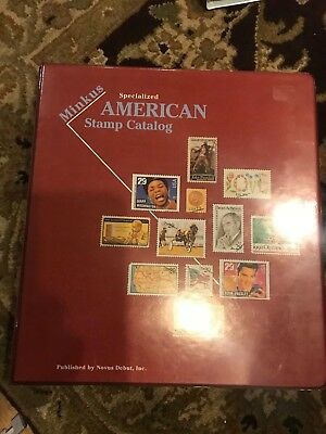 Minkus Specialized American Stamp Catalog, 1993 29th Edition