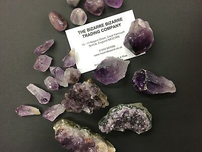 Amethyst Crystals Points Chunks Stones - Huge Variety from 99p - Healing Chakra