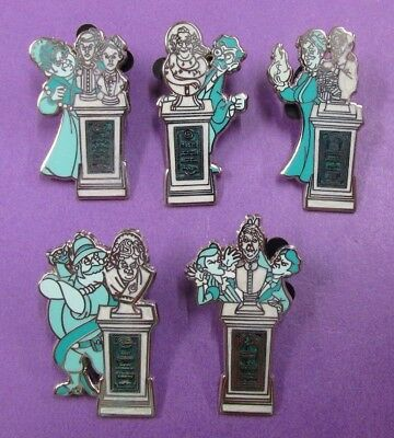 Disney Trading Pins Mixed Lot - Haunted Mansion Graveyard Tombstone  MMT#SP4