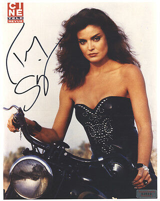 TRACY SCOGGINS In-Person Signed 8X10 Photo with a SuperStars Gallery (SSG) COA