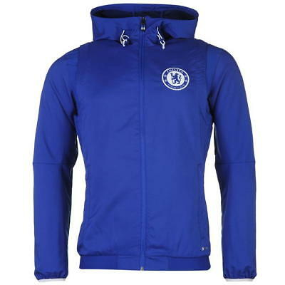 adidas Chelsea Football Club Pre Match Mens Jacket SIZE S REF C4752  b2e2ae3fc