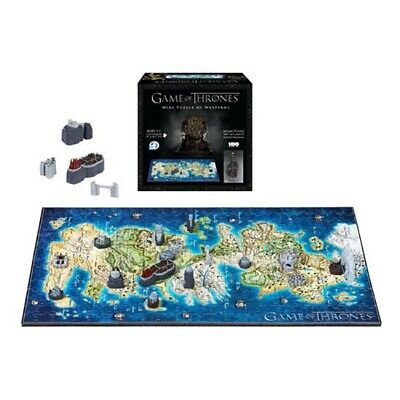 4D Cityscape Game of Thrones 3D Puzzle Mini Westeros (340 pieces)
