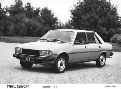 1980 Peugeot 305 SR ORIGINAL Factory Photo oua1823