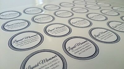 60mm Printed Round Stickers - Custom Logo labels - Postage labels - Personalised