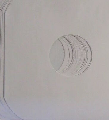 """(25) 12"""" Paper Inner LP Record Sleeves with Hole and Rounded Corners"""