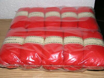 500 g  Wolle Caprice rot 10 x 50 g