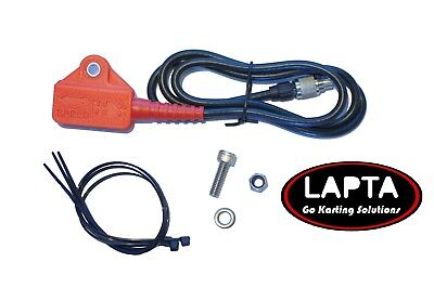 Lap magnetic Pick Up for MyChron 3 and 4  Kart Lap Timer sensor RED