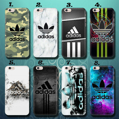 Color Sport Luxury THIN Phone Case Cover Adidas Apple iPhone 5 6 7 X Huawei P10