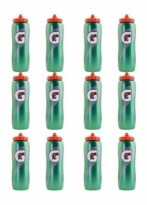 Gatorade 32 oz. Squeeze Water Bottle - All Sport Water Bottle, Team 12 Pack