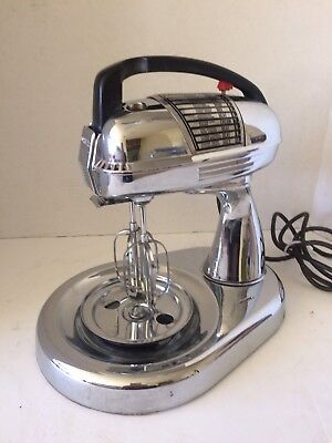 Vintage Dormeyer Stainless Steel Stand Mixer Model 5700